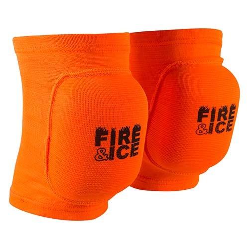 Наколенник волейбольный усиленный Fire&Ice FR-075, оранжевый, р. M