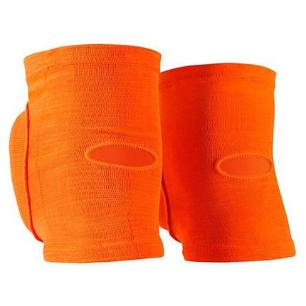 Наколенник волейбольный усиленный Fire&Ice FR-075, оранжевый, р. M, фото 2