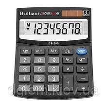 Калькулятор Brilliant BS-208 8разр.
