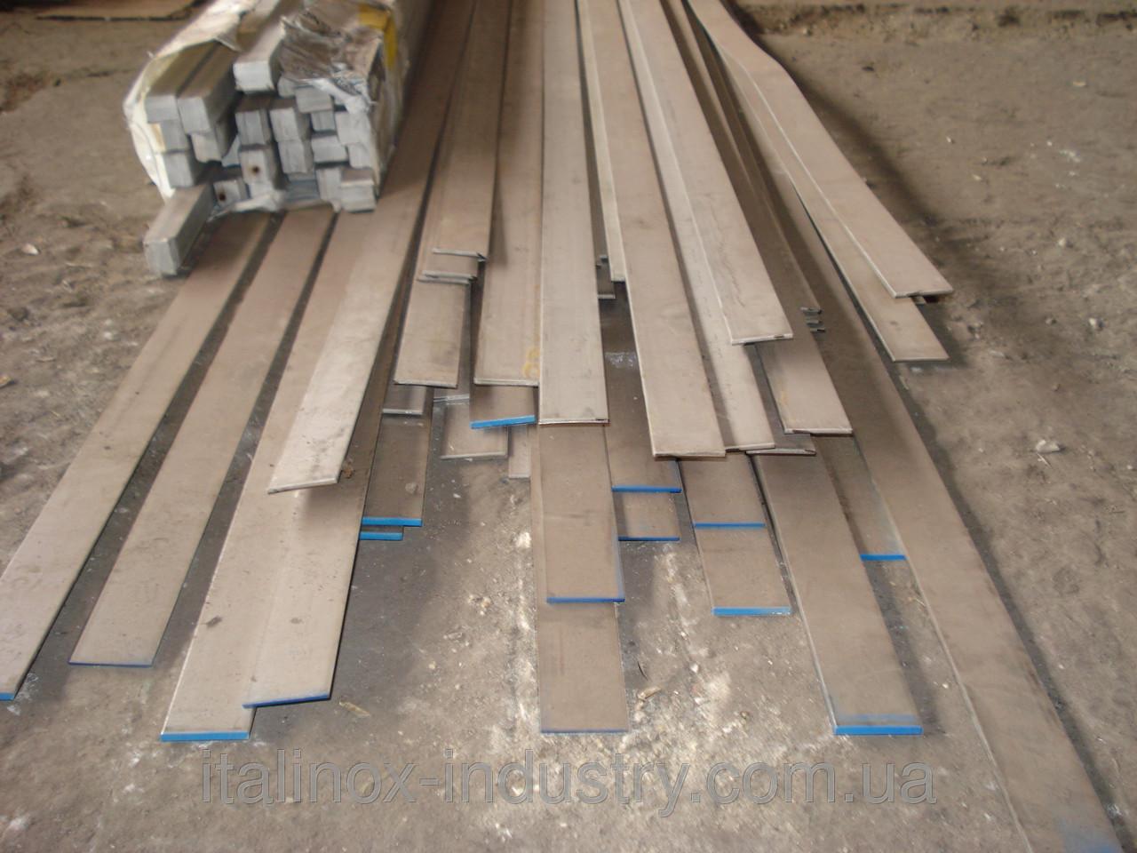 Нержавеющая полоса пруток плоский AISI 304 30х3