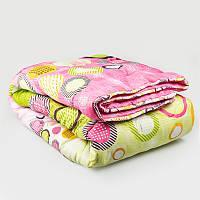УкрЮгТекстиль одеяло гипоаллергенное стеганное двойной силикон 145х210