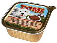 Консерва для щенков TOMi Junior - паштет с курицей