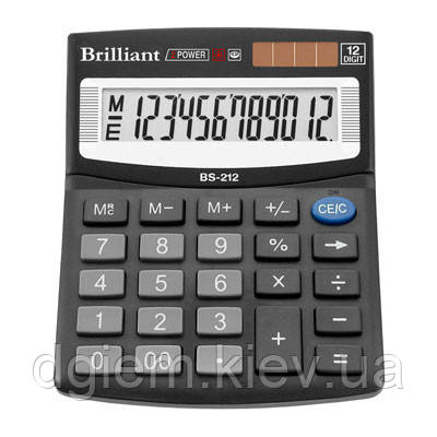 Калькулятор Brilliant BS-212 12разр.