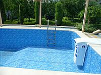 Монтаж (пайка) ПВХ плёнки для бассейнов