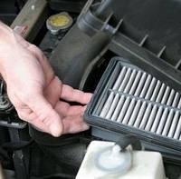 Замена фильтра салона автомобиля