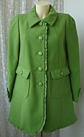 Пальто женское яркое демисезонное бренд Next р.46 4024