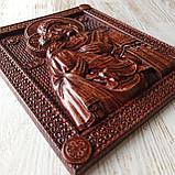 Владимирская икона Божией Матери, резная из дерева 3 (2), фото 2