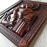 Владимирская икона Божией Матери, резная из дерева 3 (2), фото 3