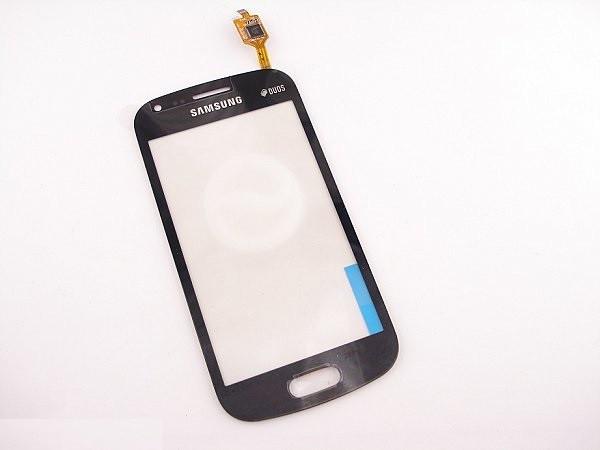 Тачскрин для Samsung S7562 Черный (cенсор, сенсорный экран, touch screen)