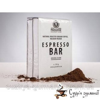 Кофе молотый Paradise «Espresso BAR» 250г, фото 1