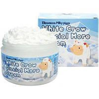 Крем для лица воздушный Elizavecca Face Care Milky Piggy White Crow Glacial More cream, 100 мл