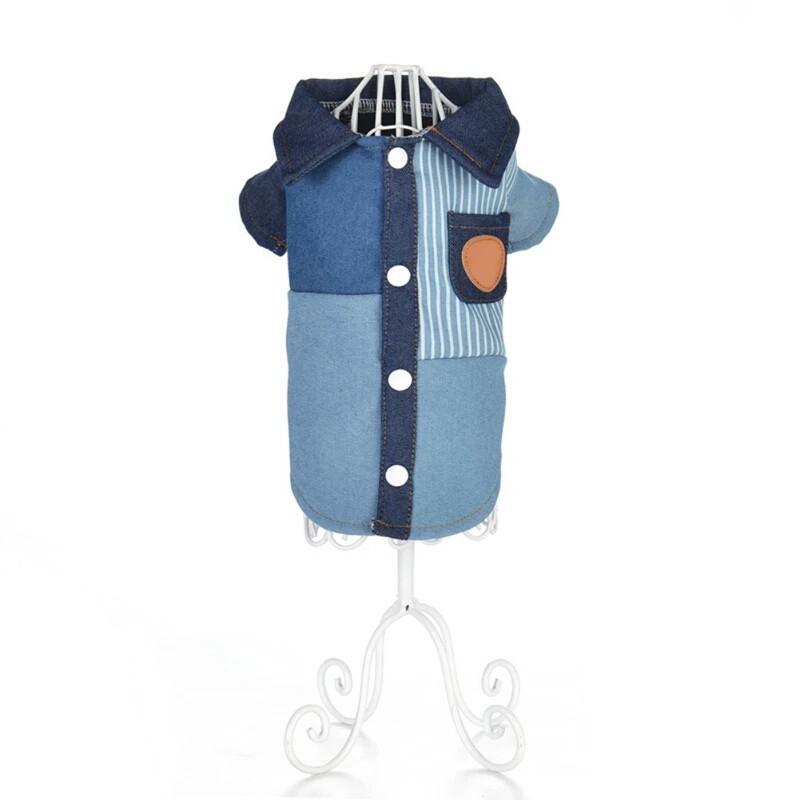 Рубашка джинс Ristar  синяя М 0805
