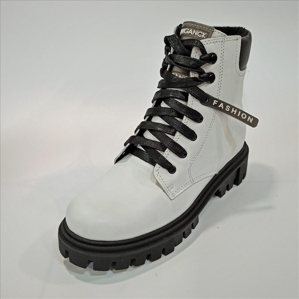 Белые ботинки на осень весну Danshoes размер 37 38 39
