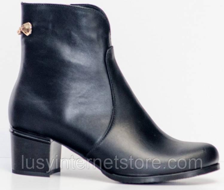 Ботинки женские большого размера кожаные от производителя модель РМ461
