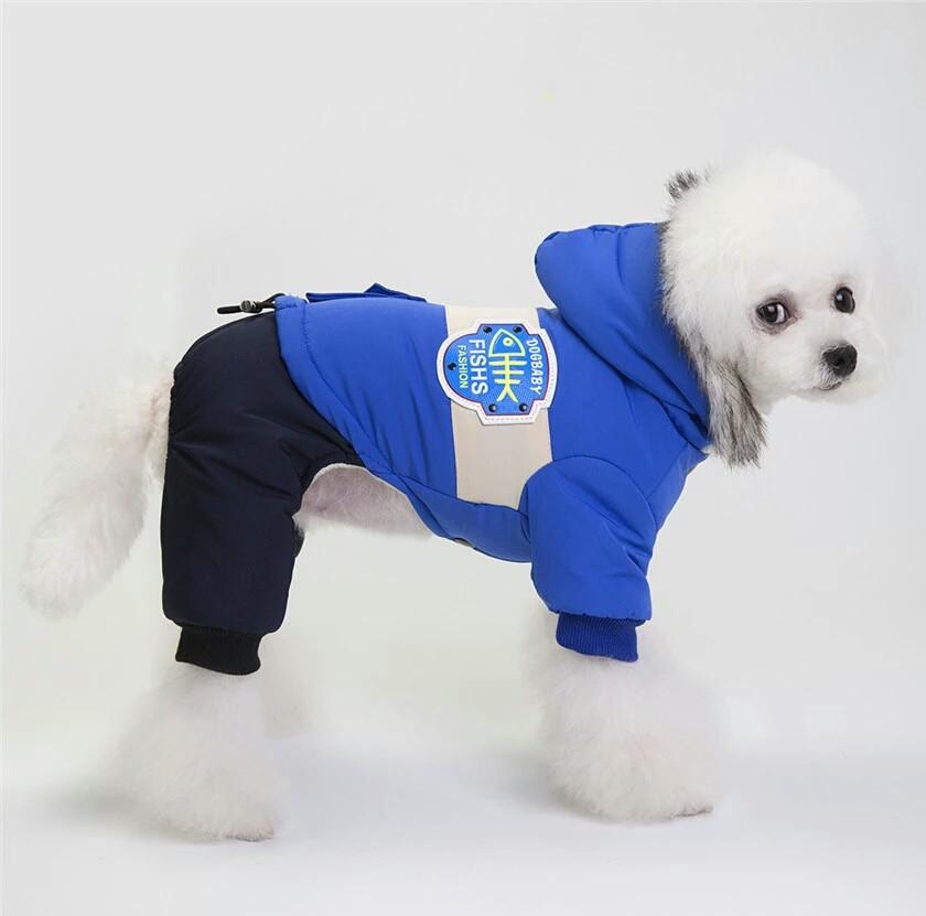 Комбинезон зимний для собак Ristar синий 1609 КЗС L