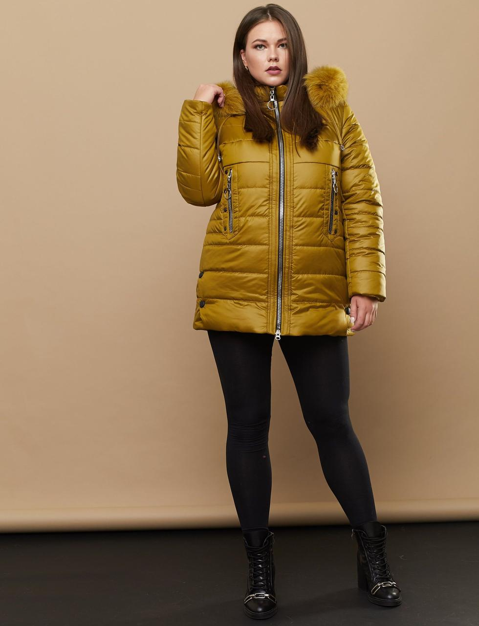 Удобная женская куртка для повседневного зимнего гардероба Разные цвета