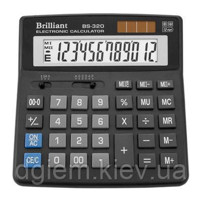 Калькулятор Brilliant BS-320 12разр.