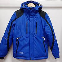 Зимняя детская куртка на мальчика 8;10;12;14;16