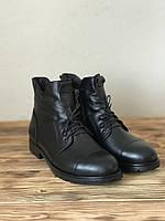 Демисезонные женские ботинки из натуральной кожи