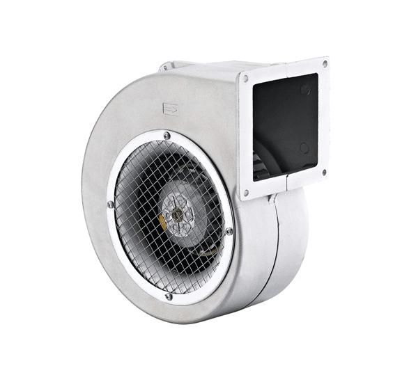 Радиальный вентилятор улитка BDRAS 140-60, алюминиевый корпус