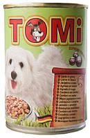 Консерва для собак TOMi Lamb - кусочки ягнёнка в соусе
