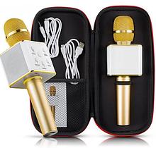 Бездротовий Караоке Мікрофон Bluetooth Q7 в Чохлі