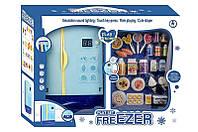 Детский холодильник с продуктами