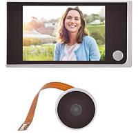 Видеоглазок цифровой с экраном 3.5? для входной двери c камерой 2 Мп