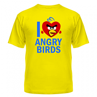 Футболка I love Angry Birds