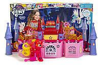 Игровой набор для девочек Волшебный замок My little pony, светящ. пони