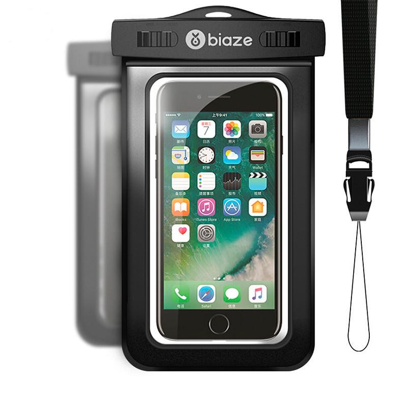 """Чехол водонепроницаемый Biaze Waterproof для мобильных телефонов до 5.8\"""""""
