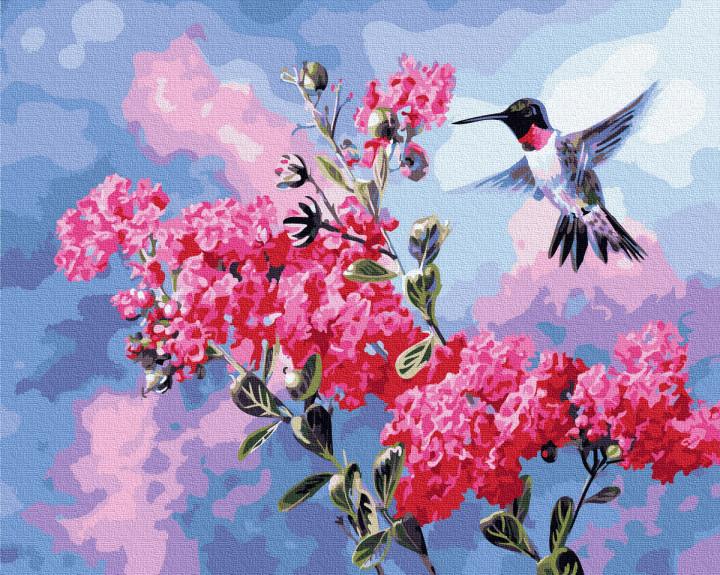"""Картина по номерам. Rainbow Art """"Цветочный нектар"""" GX34869-RA"""