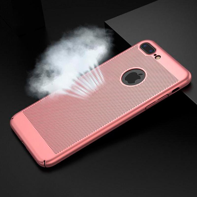 Чехол Baseus Breath Case для iPhone 7 (Rose Gold)