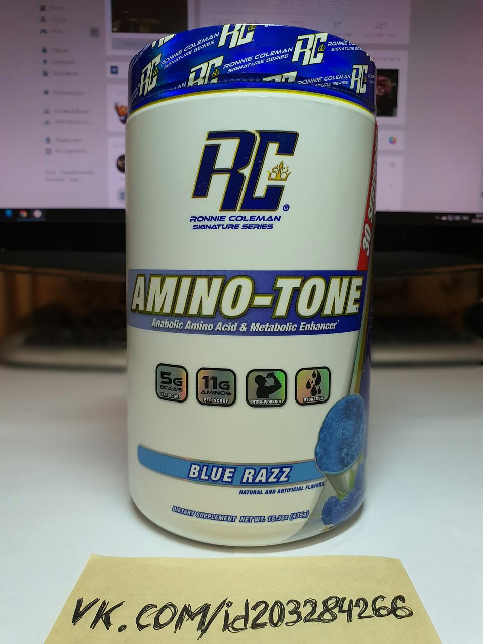 Аминокислоты BCAA Ronnie Coleman Amino-Tone 435g