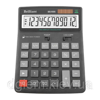 Калькулятор Brilliant BS-555 12разр.