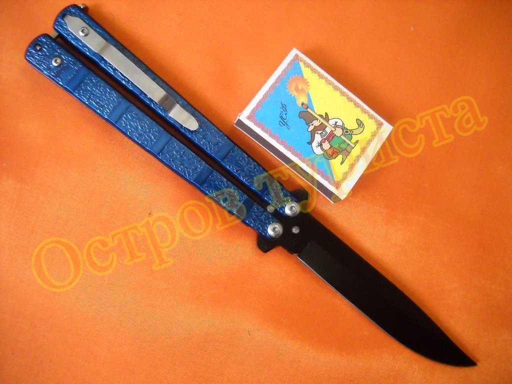 Ніж балисонг Benchmade F8029 (ніж-метелик)