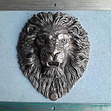 Дверний молоток Лев, фото 4