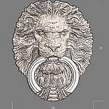 Дверний молоток Лев, фото 3