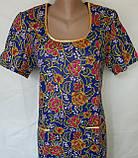 Платье с коротким рукавом 62 размер Пионы, фото 5