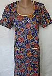 Платье с коротким рукавом 62 размер Пионы, фото 7