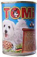 Консерва для собак TOMi 5 Kinds of Meat - кусочки мяса в соусе