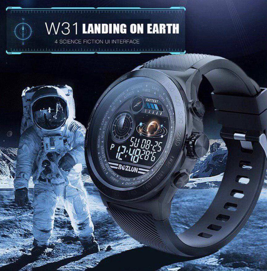 Смарт-часы Bozlun W31. Водонепроницаемый трекер. Bluetooth Smartwatch. ОРИГИНАЛ.