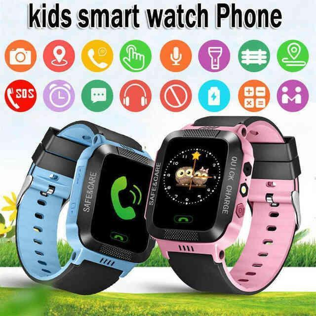 GPS Smart KIDS Watch Blue