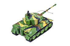 Танк микро р/у 1:72 Tiger со звуком (хаки зеленый), фото 3