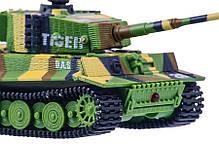 Танк микро р/у 1:72 Tiger со звуком (хаки зеленый), фото 2