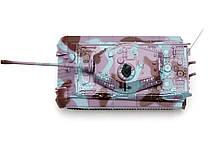 Танк микро р/у 1:72 King Tiger со звуком (фиолетовый, 35MHz), фото 3
