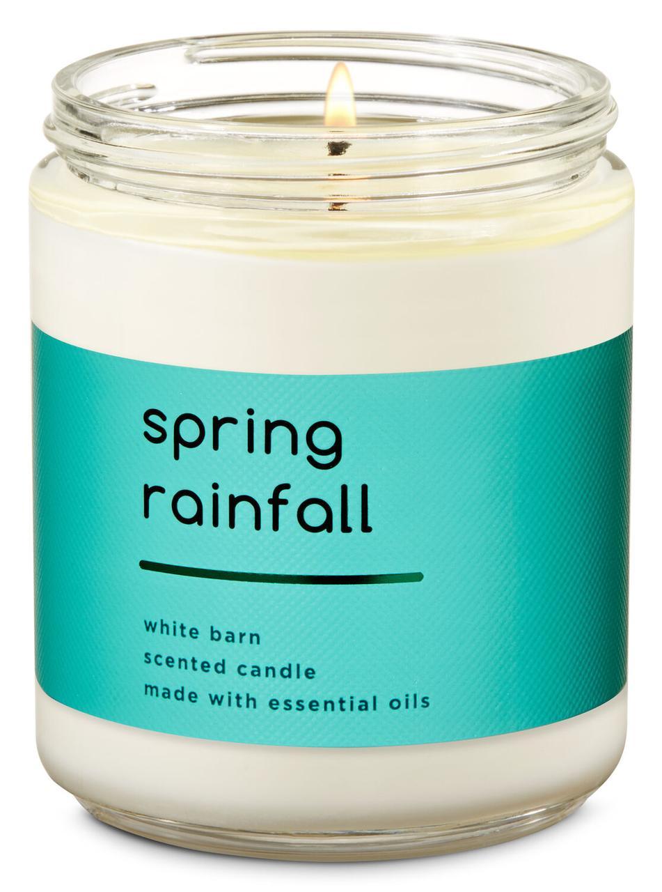 Ароматизированная свеча Spring Rainfall Bath and Body Works