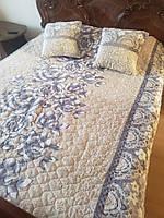 Покрывало с подушками Евро размера