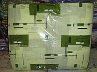 Двоспальне постільна білизна жатка Тирасполь квадрати