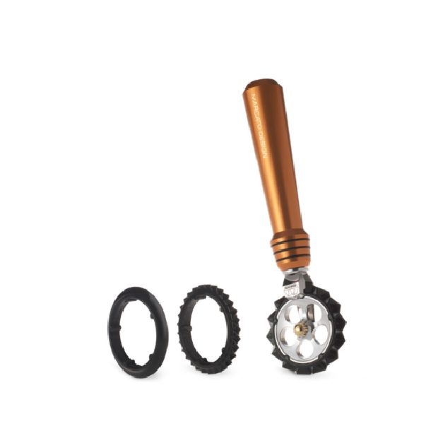 Фигурный нож для теста Marcato Pastawheel Copper